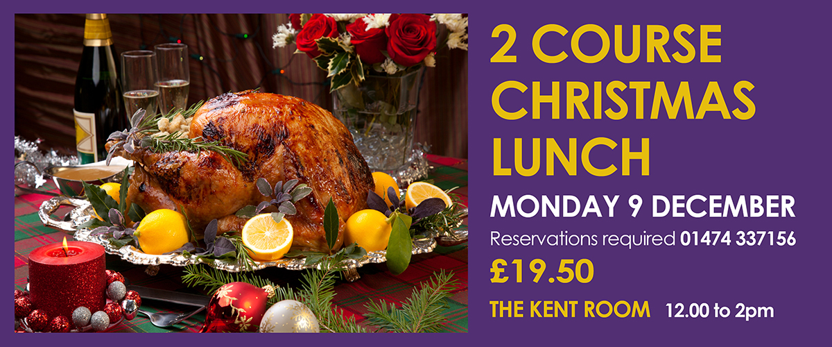 2 course Christmas lunch at the Woodville