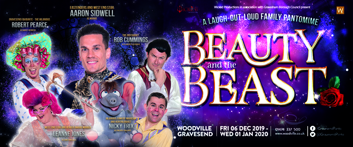 Beauty and the Beast at The Woodville in Gravesend